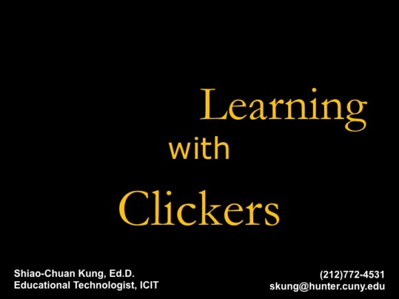 New ActiveLearningClickers PowerPoint